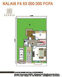 Plan Villa Kalaïs