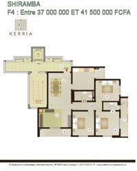 Plan Appartement Shiramba
