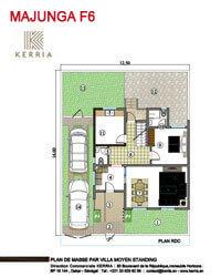 Plan Villa Majunga
